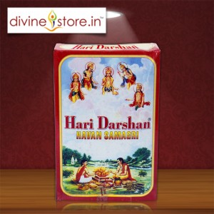 But hari darshan hawan samagri from www.divinestore.in