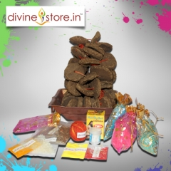 Traditional Holika Dahan Puja Kit
